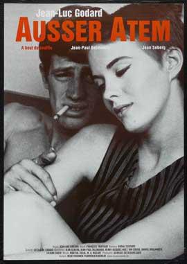 � bout de souffle - 11 x 17 Movie Poster - German Style A