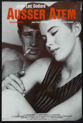 � bout de souffle - 27 x 40 Movie Poster - German Style A