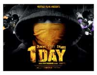 1 Day - 30 x 40 Movie Poster UK - Style A