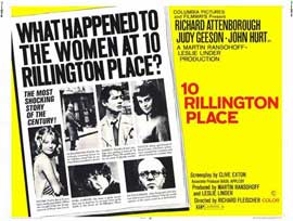 10 Rillington Place - 11 x 14 Movie Poster - Style A