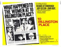 10 Rillington Place - 22 x 28 Movie Poster - Half Sheet Style A
