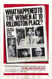 10 Rillington Place - 27 x 40 Movie Poster - Style A