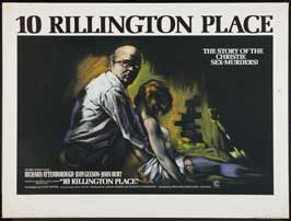 10 Rillington Place - 43 x 62 Movie Poster - UK Style A