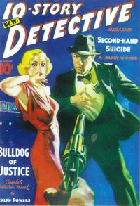 10-Story Detective Magazine (Pulp) - 11 x 17 Pulp Poster - Style A