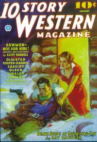 10 Story Western Magazine (Pulp) - 11 x 17 Pulp Poster - Style A