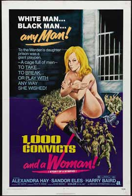 1000 Convicts and a Woman - 27 x 40 Movie Poster - Style A