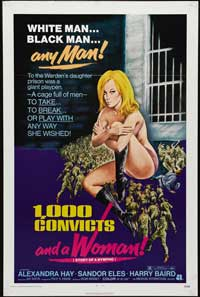 1000 Convicts and a Woman - 43 x 62 Movie Poster - Bus Shelter Style A
