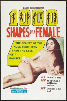 1,000 Shapes of a Female - 11 x 17 Movie Poster - Style A