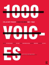 1000 Voices - 43 x 62 Movie Poster - Bus Shelter Style A