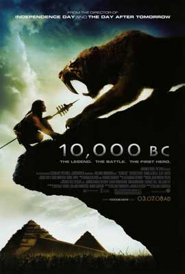 10,000 B.C. - 11 x 17 Movie Poster - Style B