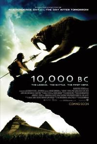 10,000 B.C. - 43 x 62 Movie Poster - UK Style A