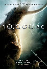 10,000 B.C. - 43 x 62 Movie Poster - UK Style B
