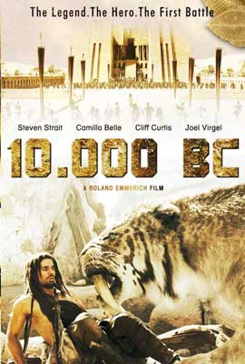 10,000 B.C. - 27 x 40 Movie Poster - Style D