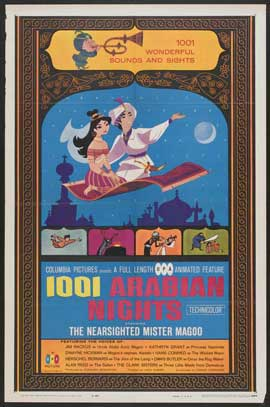 1001 Arabian Nights - 11 x 17 Movie Poster - Style A
