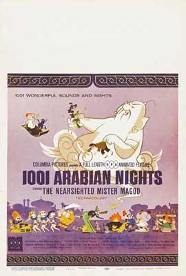 1001 Arabian Nights - 27 x 40 Movie Poster - Style B