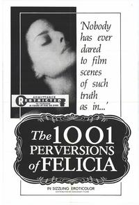 1001 Perversions of Felicia - 11 x 17 Movie Poster - Style A