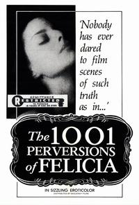 1001 Perversions of Felicia - 27 x 40 Movie Poster - Style A