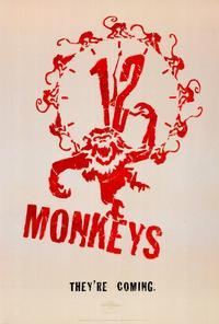 12 Monkeys - 27 x 40 Movie Poster - Style B