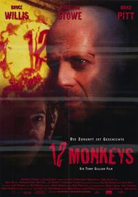 12 Monkeys - 11 x 17 Movie Poster - German Style A