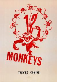 12 Monkeys - 43 x 62 Movie Poster - Bus Shelter Style A