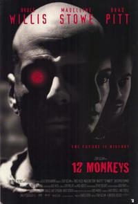 12 Monkeys - 43 x 62 Movie Poster - Bus Shelter Style B