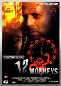 12 Monkeys - 27 x 40 Movie Poster - German Style A