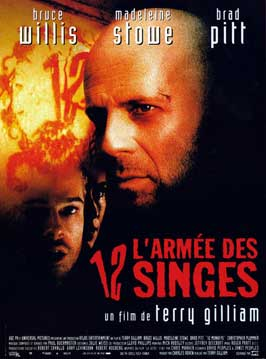12 Monkeys - 11 x 17 Movie Poster - French Style A