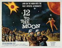 12 to the Moon - 11 x 14 Movie Poster - Style A