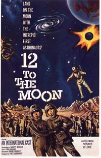 12 to the Moon - 11 x 17 Movie Poster - Style A