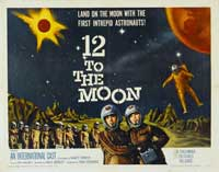 12 to the Moon - 22 x 28 Movie Poster - Style A