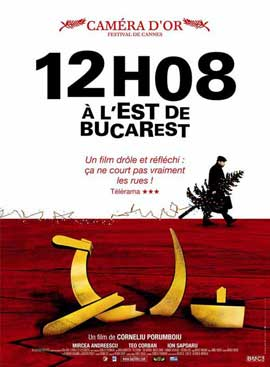 12:08 East of Bucharest - 11 x 17 Movie Poster - French Style A