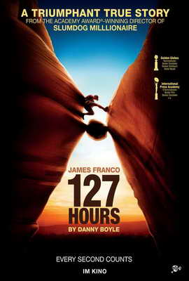 127 Hours - 27 x 40 Movie Poster - Swiss Style A