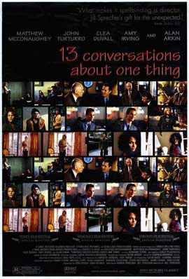 13 Conversations About One Thing - 27 x 40 Movie Poster - Style A