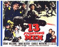 13 Fighting Men - 11 x 14 Movie Poster - Style A