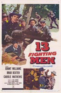 13 Fighting Men - 11 x 17 Movie Poster - Style A