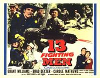 13 Fighting Men - 22 x 28 Movie Poster - Half Sheet Style A