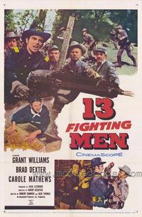 13 Fighting Men - 43 x 62 Movie Poster - Bus Shelter Style A