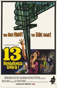 13 Frightened Girls - 11 x 17 Movie Poster - Style A