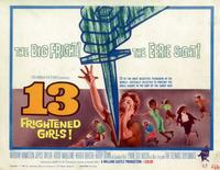 13 Frightened Girls - 11 x 14 Movie Poster - Style B