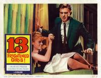 13 Frightened Girls - 11 x 14 Movie Poster - Style C