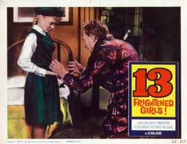 13 Frightened Girls - 11 x 14 Movie Poster - Style E