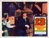 13 Frightened Girls - 11 x 14 Movie Poster - Style F