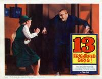 13 Frightened Girls - 11 x 14 Movie Poster - Style H