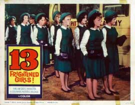 13 Frightened Girls - 11 x 14 Movie Poster - Style I