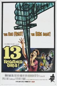 13 Frightened Girls - 27 x 40 Movie Poster - Style A