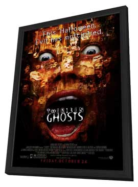 13 Ghosts - 11 x 17 Movie Poster - Style A - in Deluxe Wood Frame