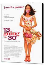13 Going On 30 - 27 x 40 Movie Poster - Style A - Museum Wrapped Canvas