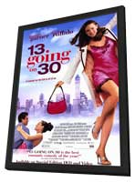 13 Going On 30 - 11 x 17 Movie Poster - Style B - in Deluxe Wood Frame