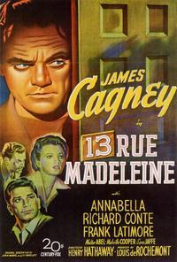 13 Rue Madeleine - 27 x 40 Movie Poster - Style A