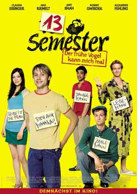 13 Semester - 11 x 17 Movie Poster - German Style A